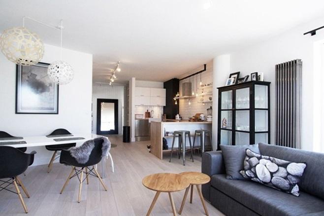 Scandinavian Apartment 1