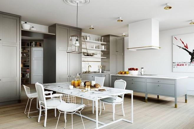 Scandinavian Kitchen 00