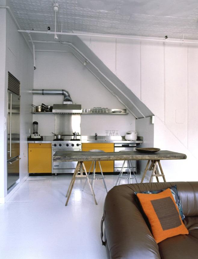 Kitchens under the ladder 14