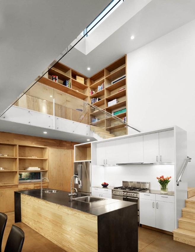 Kitchens under the ladder 18