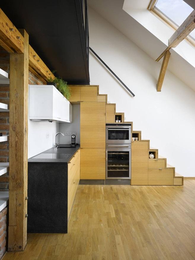 Kitchens under the ladder 21