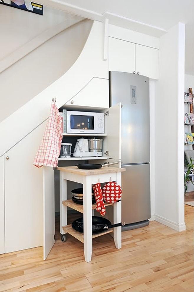 Kitchens under the ladder 41
