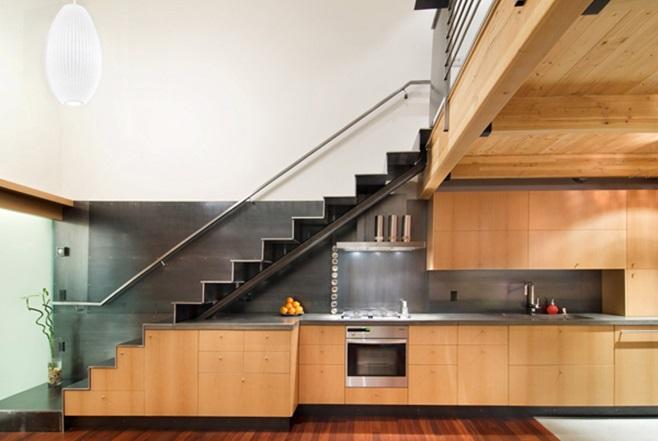 Kitchens under the ladder 46