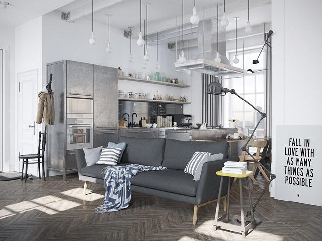 Apartment Scandinavian 1