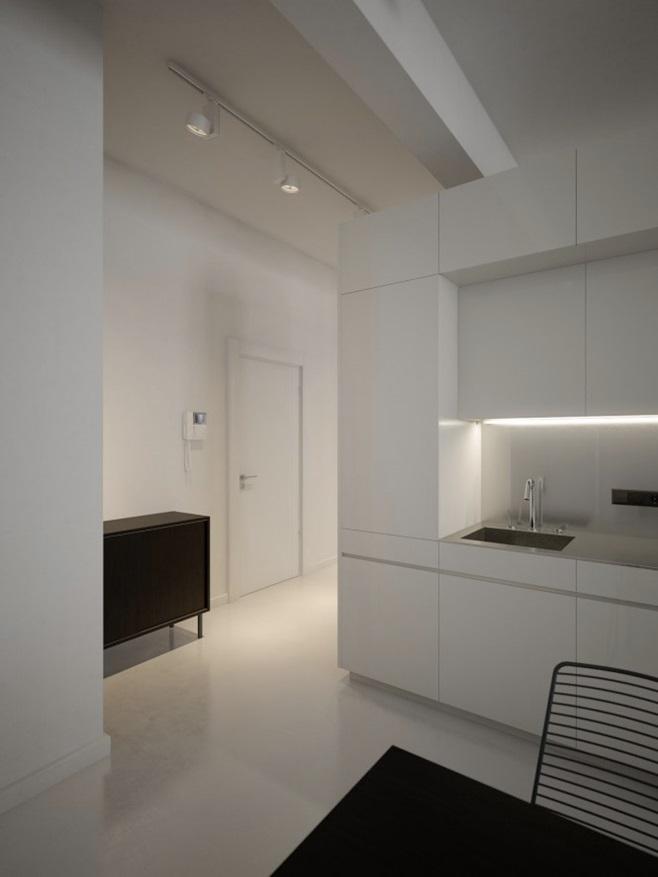 Modern minimalist black and white lofts 3