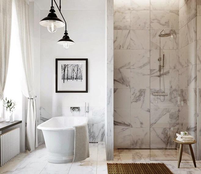 Marble Bathroom 1