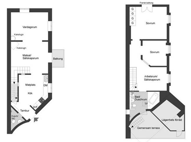 loft duplex in Kungsholmen 28