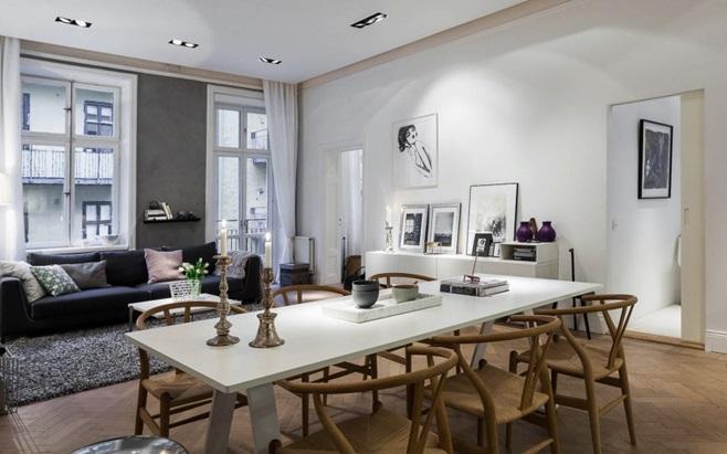 Scandinavian Apartment in Stockholm 1
