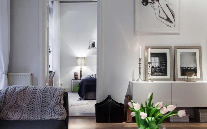 Scandinavian Apartment in Stockholm 12