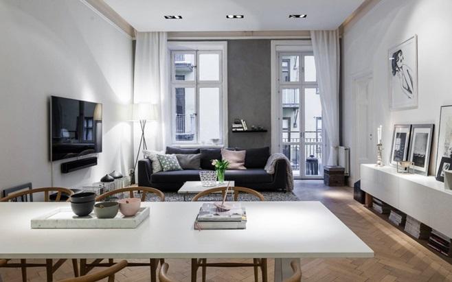Scandinavian Apartment in Stockholm 2
