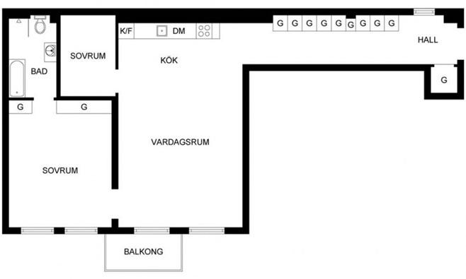 Scandinavian Apartment in Stockholm 21