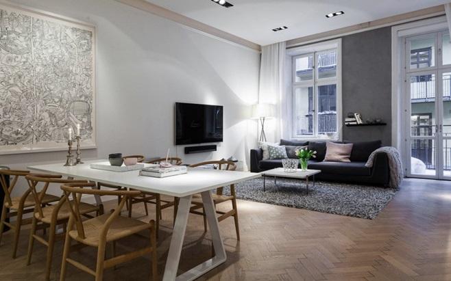 Scandinavian Apartment in Stockholm 6