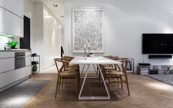Scandinavian Apartment in Stockholm 7