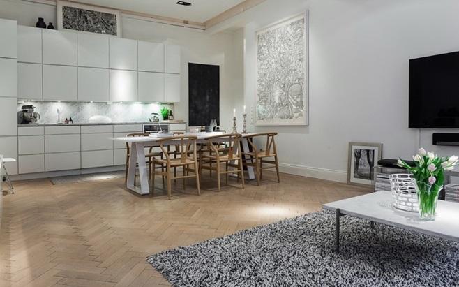 Scandinavian Apartment in Stockholm 8