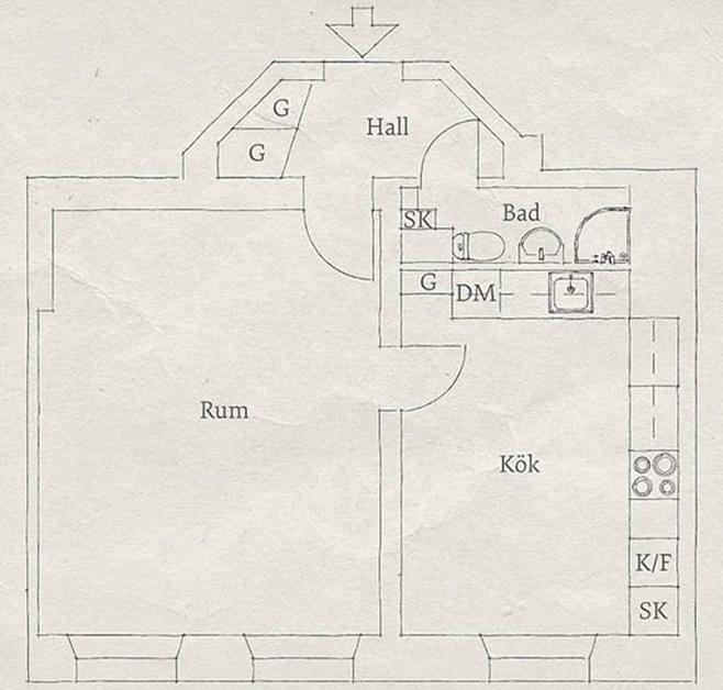 Scandinavian flat 27