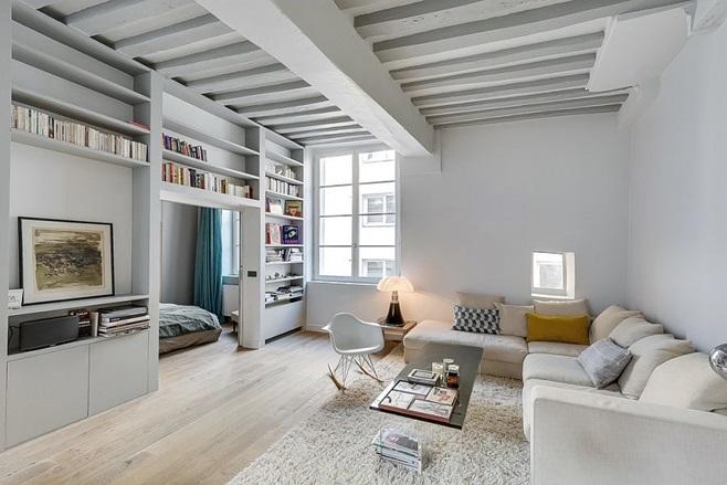 Small Apartment in Paris 6