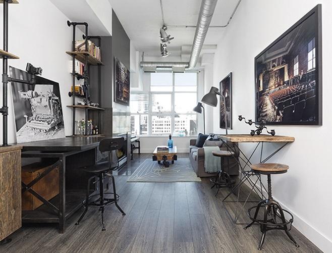 Modern loft in Toronto 1