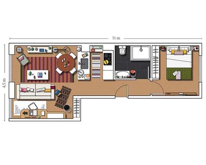 apartment in Madrid 19