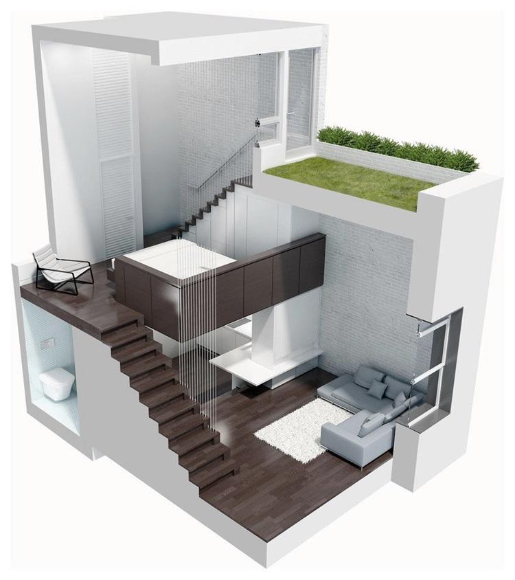 Micro-Loft in Manhattan 10