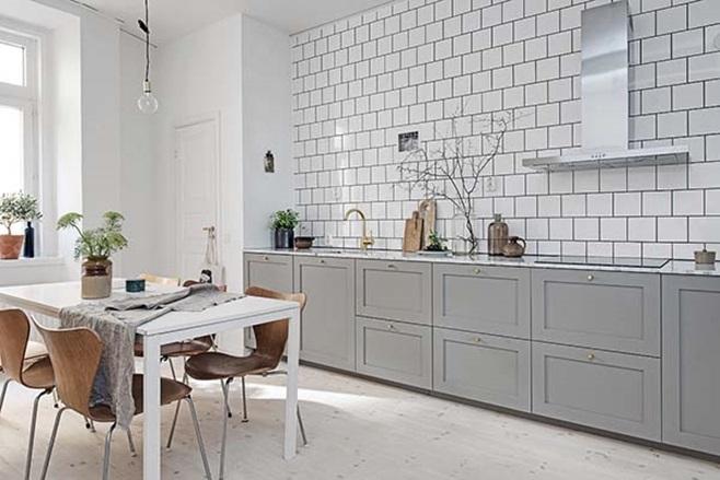 beautiful Scandinavian apartment 1