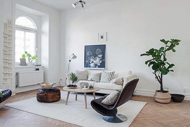 beautiful Scandinavian apartment 16