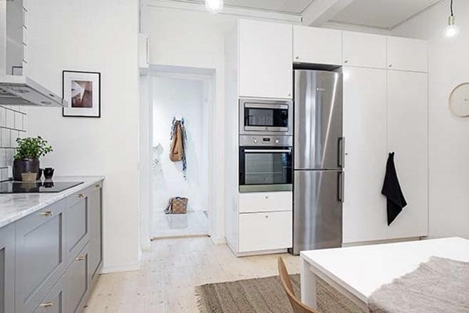 beautiful Scandinavian apartment 18