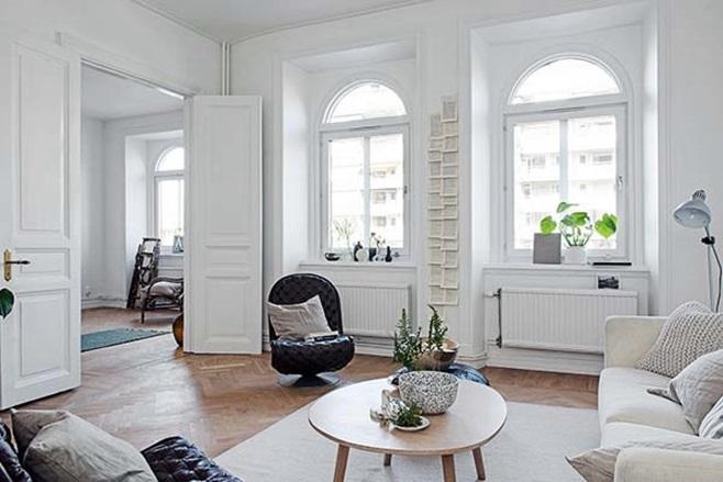 beautiful Scandinavian apartment 2