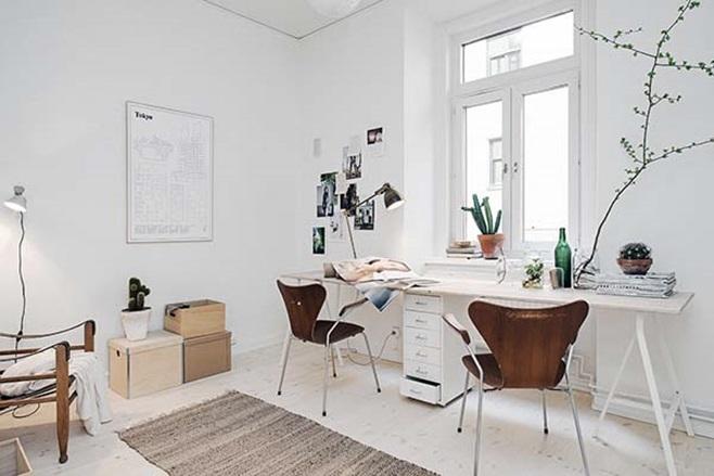 beautiful Scandinavian apartment 23
