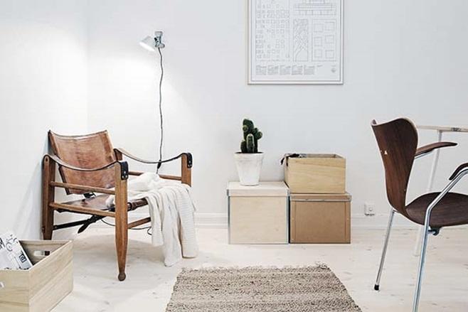 beautiful Scandinavian apartment 24