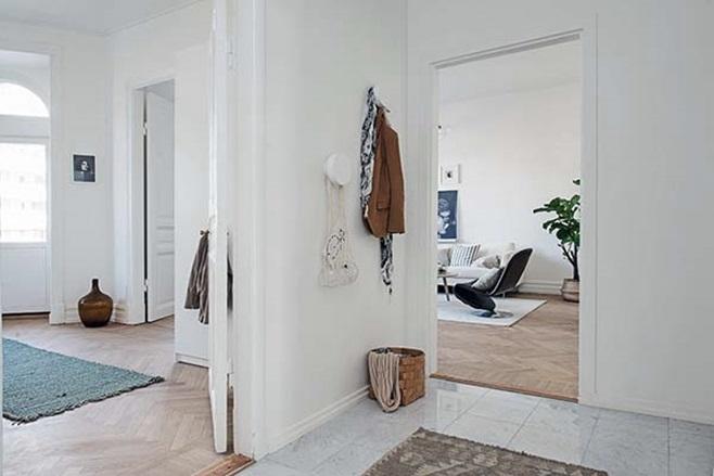 beautiful Scandinavian apartment 29