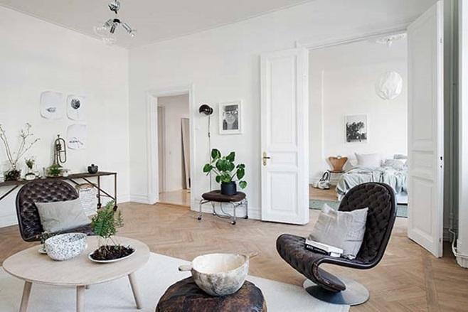 beautiful Scandinavian apartment 3