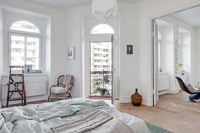 beautiful Scandinavian apartment 6