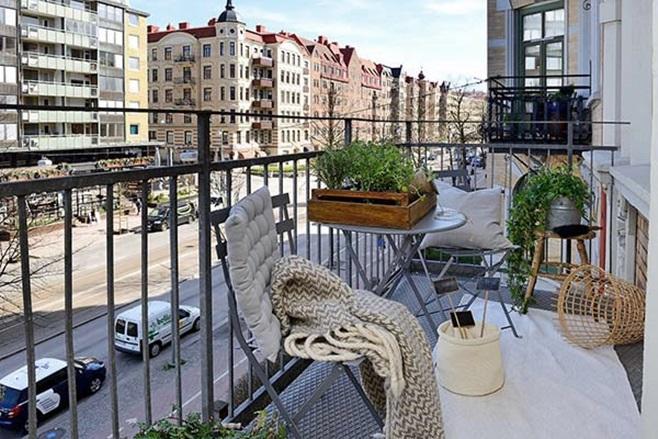 beautiful Scandinavian apartment 7