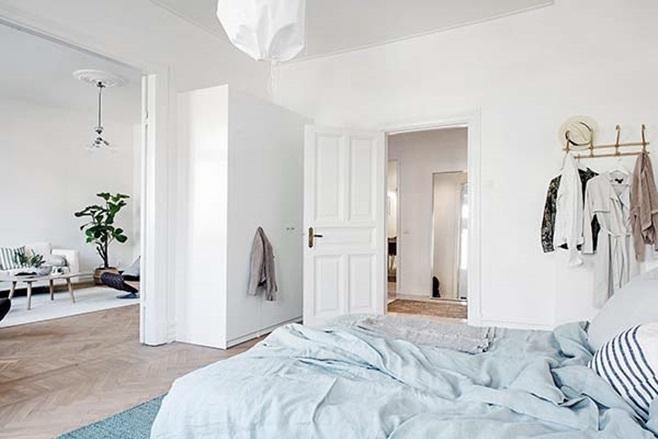 beautiful Scandinavian apartment 9