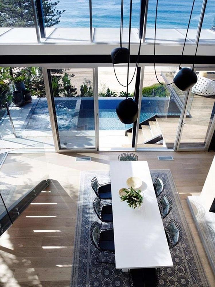 stylish beach house 12