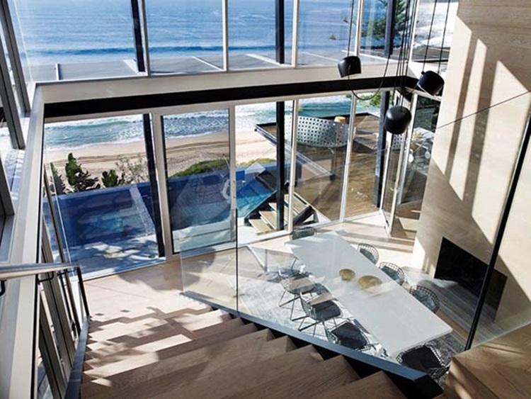 stylish beach house 13
