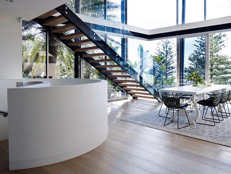 stylish beach house 7