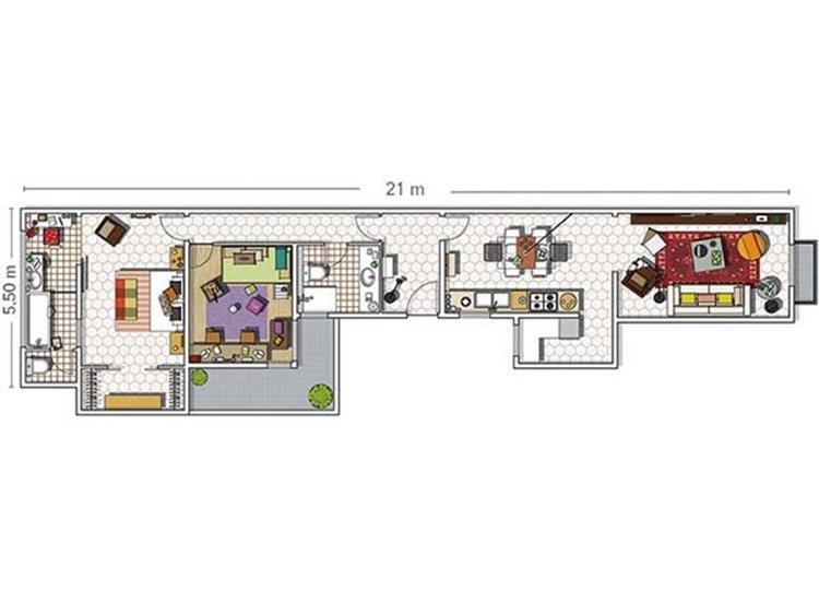 Stylish apartment 16