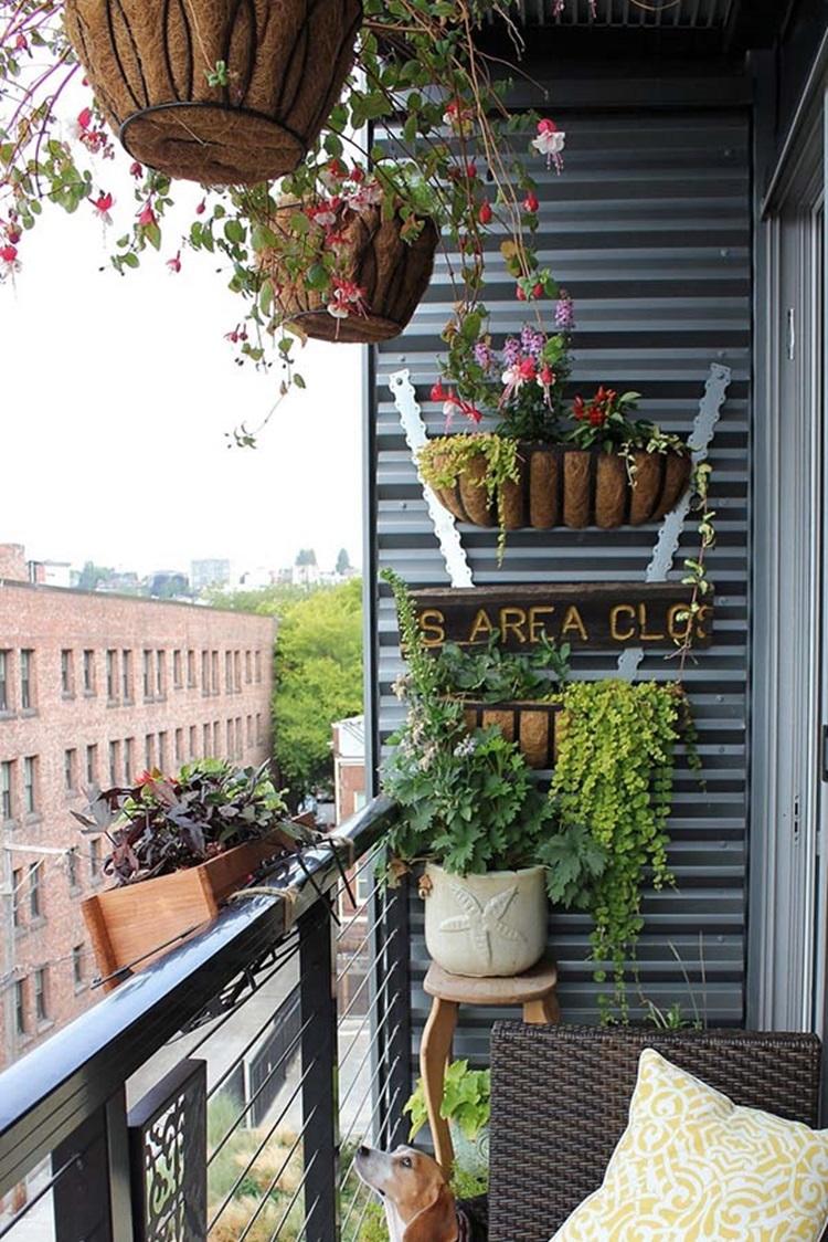 Small balcony design ideas 24