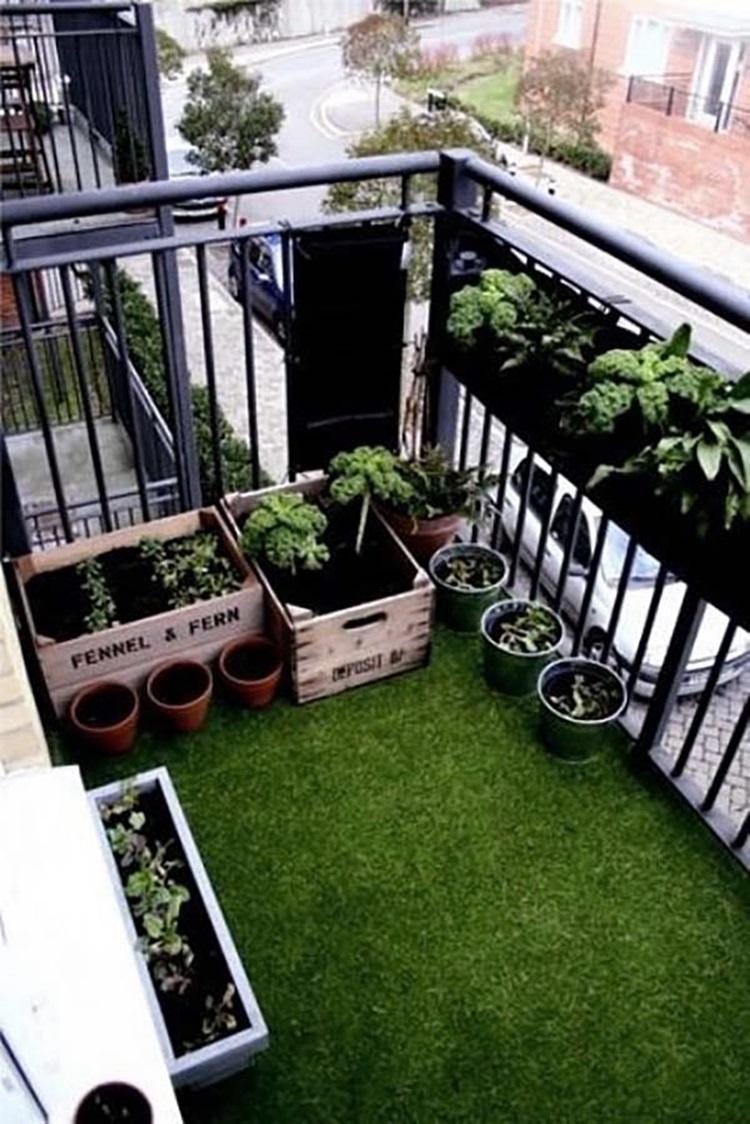 Small balcony design ideas 29