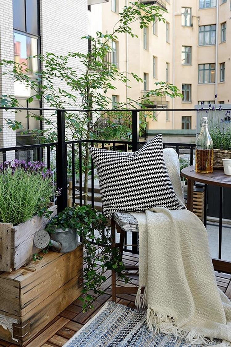 Small balcony design ideas 44