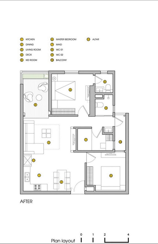 Family Apartment in Vietnam 14