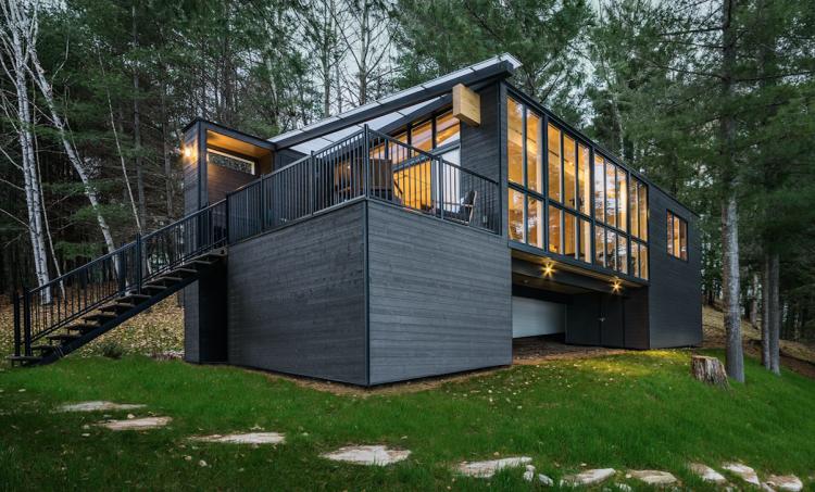 Prefab Cabin in Quebec 10