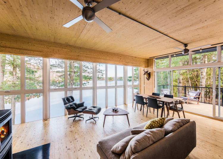 Prefab Cabin in Quebec 2
