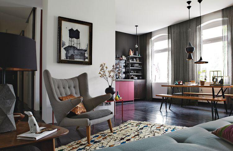 Apartment in Berlin by Peter Fehrentz 1