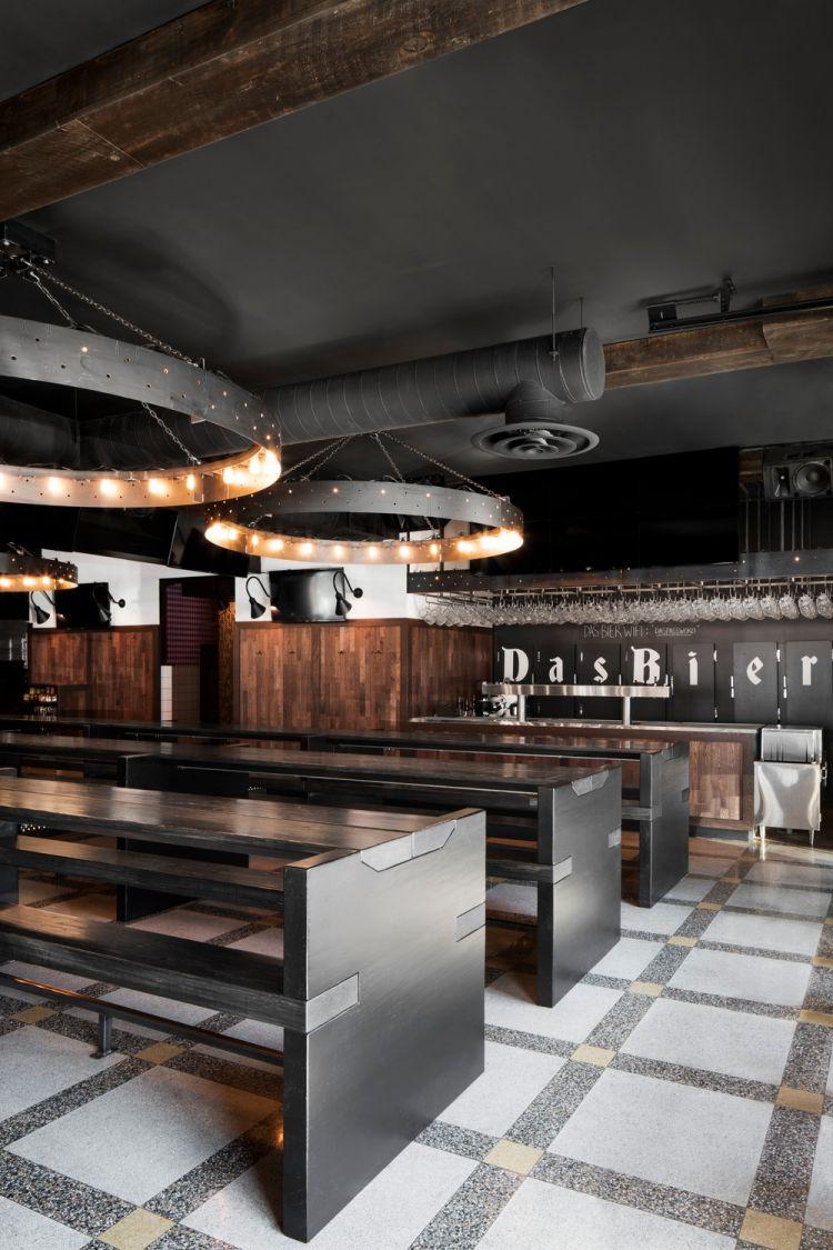 Industrial Bar Design in Montreal 10