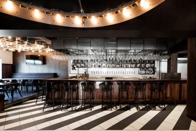 Industrial Bar Design in Montreal 1