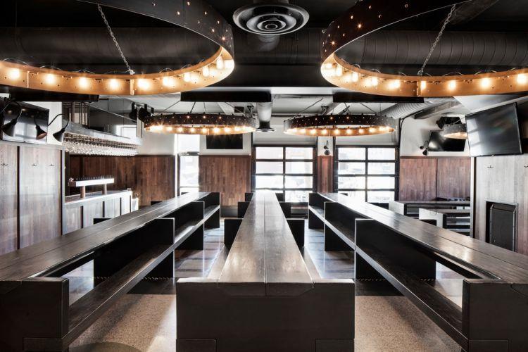 Industrial Bar Design in Montreal 11