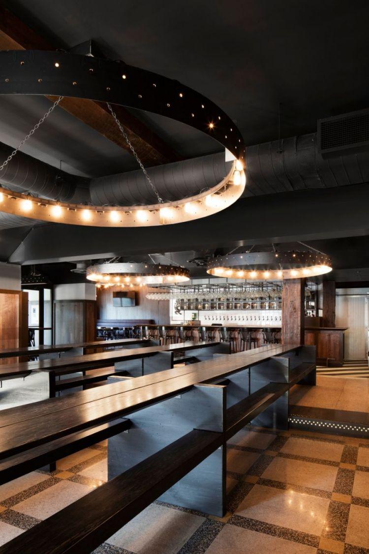 Industrial Bar Design in Montreal 3
