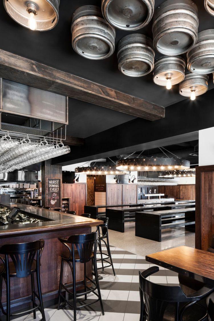Industrial Bar Design in Montreal 5
